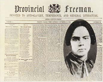 mary ann shadd cary In 1851, cary immigrated to canada west not long after, her family followed settled in windsor, she opened a school for blacks and wrote notes on canada west, an immigration guide for fugitives.