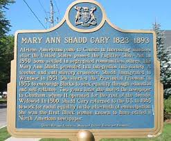 Mary Ann Shadd Cary — Pioneer of Black Suffrage