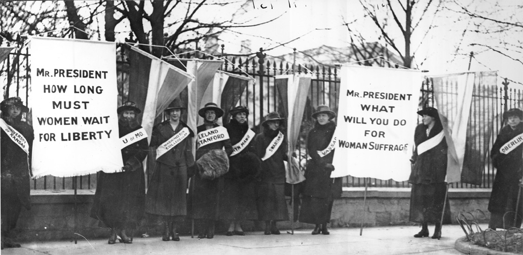 Women Went to Jail for the Right to Vote