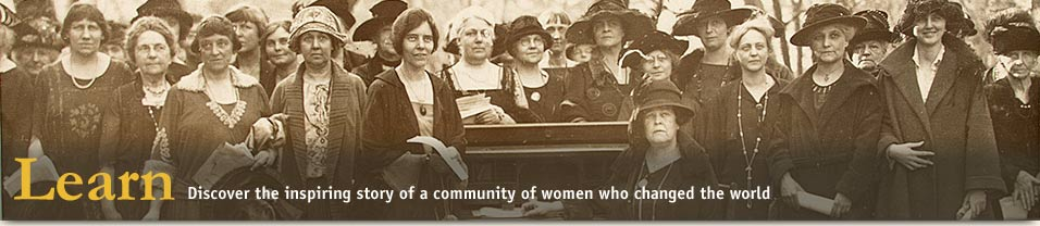 Womens Suffrage Lobbied Congress for the Vote