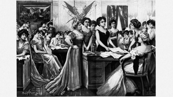 History of Women's Suffrage